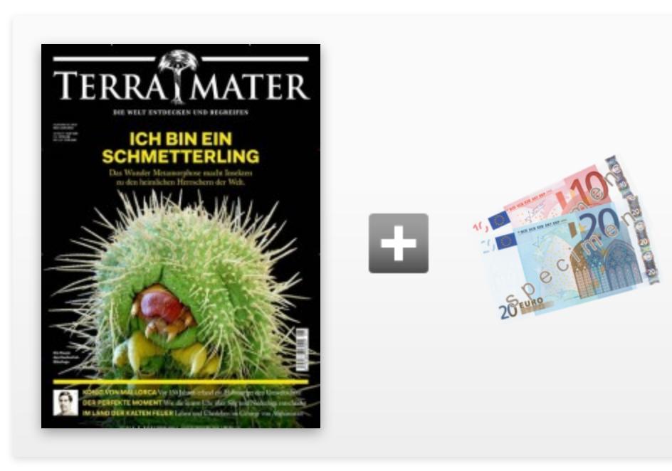 TOP! 6 Ausgaben Terra Mater für 39€ inkl. 30€ Amazon Gutschein oder 30€ Verrechnungsscheck