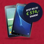 Samsung Galaxy Tab S2 oder A für je 4,95€ + o2 Blue Data L mit 6GB LTE ab 9,99€ mtl.