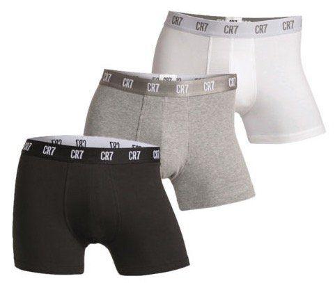 3er Pack CR7 Cristiano Ronaldo Basic Trunk Boxershorts für 18,95€ (statt 25€)