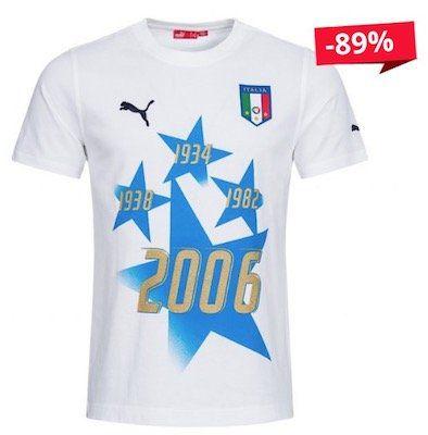 Puma Italien WM Sieger T Shirt für 6,17€   wenige Größen