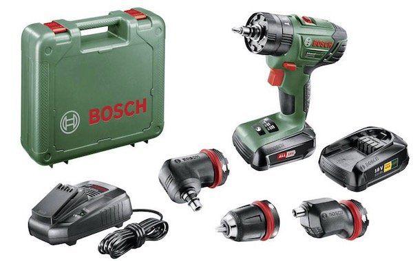 Bosch Advanced Impact 18 Akku Schlagbohrschrauber 18V inkl. 2. Akku + Koffer für 134,10€ (statt 199€)