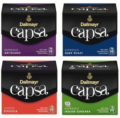 100 Kapseln Dallmayr Kaffeekapseln für 19,99€ (statt 28€)   MHD 30.06.2018