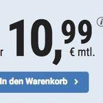 TOP! o2 Flat mit 3GB LTE für nur 10,99€ mtl. – monatlich kündbar und ohne Datenautomatik!