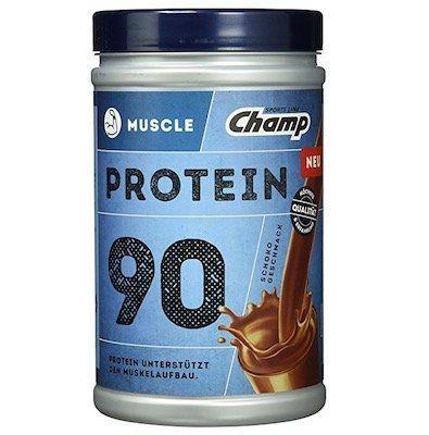 Champ Muscle Protein 90 Shake 390g für 5,99€(statt 10€)   MHD 30.06.2018