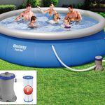Bestway Pool 396 x 84cm inkl. Filterpumpe für 62,95€ (statt 114€)