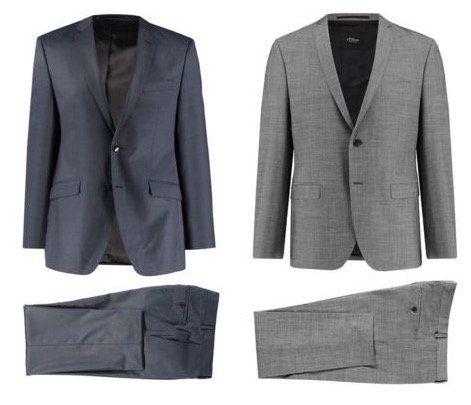 s.Oliver Cosimo Flex oder Firenze Slim Fit Herren Anzug für je 99,90€ (statt 130€)