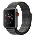 Apple Watch Series 3 (GPS + LTE) 38mm mit Sport Loop Armband für 389€ (statt 435€)