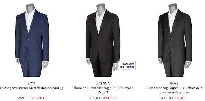 Boss Herrenanzüge Restposten stark reduziert   z.B. Businessanzug schon ab 290€