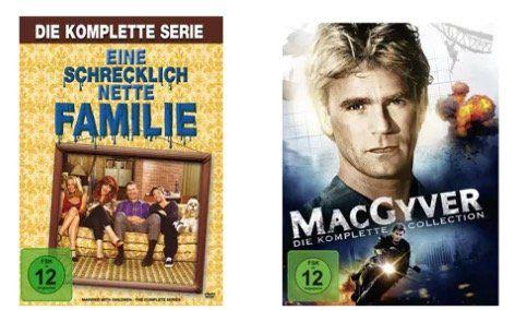 Thalia: 17% Rabatt auf Filme, Musik & mehr   z.B. MacGyver (komplette Serie) auf DVD für 29,04€ (statt 35€)