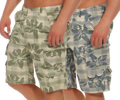 Azuonda Cargo Shorts mit Blumenmuster für je 13,90€