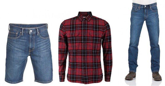 Levis Klamotten mit 30% Rabatt bei Jeans Direct   günstige Jeans, Shirts & Co.