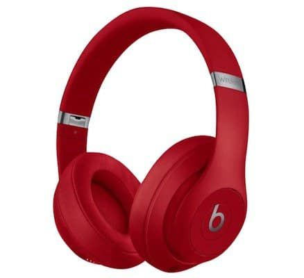 Beats By Dre Studio 3   Bluetooth Noise Cancelling Over Ear Kopfhörer in Rot für 169€ (statt 205€)