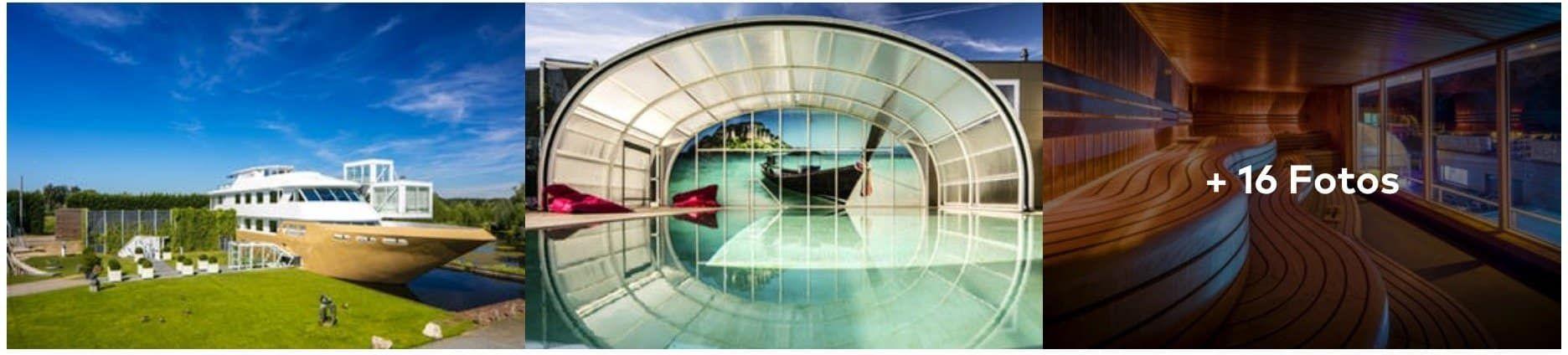 1 oder 2 Nächte Holland im top bewertetem 4*Hotel + Wellnessboot Zugang ab 49€ p.P.