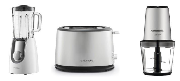 Grundig Sale bei vente privee   z.B. Toaster Harmony TA 562 für 32,99€ (statt 40€)