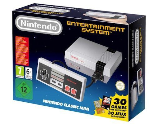 Nintendo Classic Mini (2. Generation) inkl. 30 Spielen für 49€ (statt 57€)