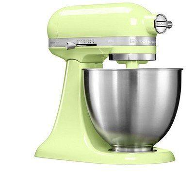 KITCHENAID 5KSM3311X Mini Küchenmaschine mit 3,3L Rührschüssel für 278,90€ (statt 351€)