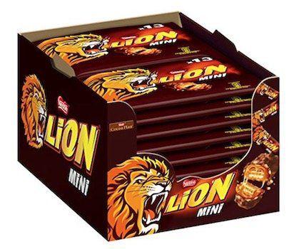 3,7kg Nestlé Lion Mini Schokoriegel mit Karamell ab 10,36€ (statt 20€)