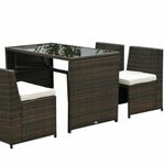 Outsunny Polyrattan Lounge-Set für 279,99€