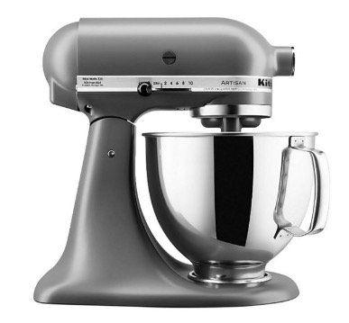 KitchenAid Artisan 5KSM150PS mit 4,8L Schüssel und 300 Watt für 299,70€ (statt 395€)
