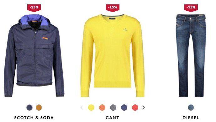 Spring Season Sale bei engelhorn mit 15% Rabatt + 5€ Gutschein   z.B. Diesel Jeans für 62,92€ (statt 80€)