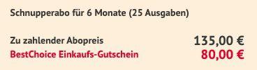 25 Ausgaben Börse Online im Abo für 135€ + 80€ BestChoice Gutschein