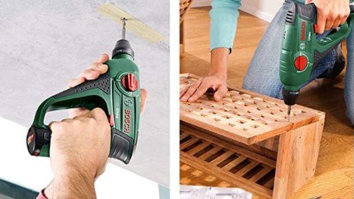 Bosch Uneo Akku Bohrhammer inkl. 2 Akkus + Koffer für 117,85€ (statt 141€)
