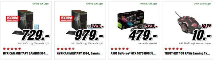 PS 4 Pro 1TB + Call of Duty WWII + Thats You Voucher + Detroit Become Human für 439€ (statt 534€) uvm. im Media Markt Dienstag Sale