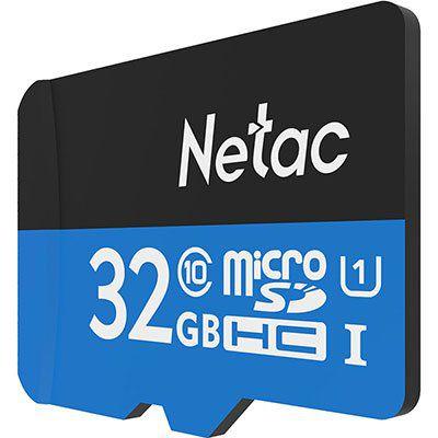 Netac P500 Class 10 32GB Micro SDHC TF für 4,35€