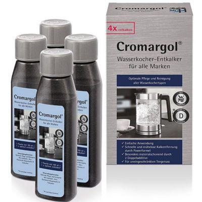 Cromargol Wasserkocher Entkalker im 2er Pack (je 4 Flaschen) für 6,99€ (statt 13€)