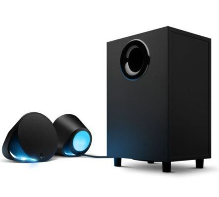 Logitech G560 Lightsync PC Gaming Lautsprecher mit spielbasierter LED Beleuchtung für 160,99€ (statt 182€)