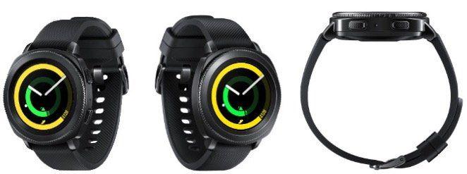 Samsung Gear Sport Smartwatch Silikon in Schwarz für 129€(statt 189€)