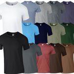 GILDAN Herren T-Shirts mit Rundausschnitt im 10er Pack bis 2XL für 24,99€