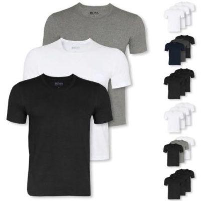 HUGO BOSS Herren T Shirts im 3er Pack für 29,99€ (statt 35€)