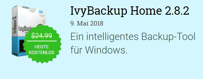 IvyBackup Home 2.8 (Windows) kostenlos