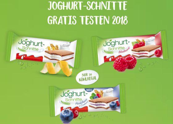 Joghurt Schnitte (verschiedene Sorten) gratis testen dank Geld zurück Garantie