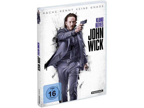 John Wick DVD für 5€ (statt 8€)