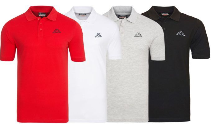 Kappa Peleot   Herren Poloshirt für je 12,99€ (statt 15€)