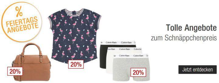 Galeria Kaufhof Feiertagsangebote: z.B. bis 20% Rabatt auf Taschen, Fashion und Sportartikeln uvam.