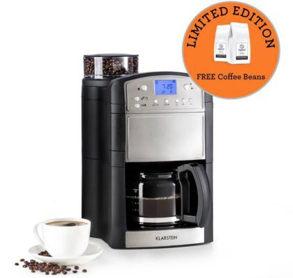 Klarstein Aromatica Kaffeemaschine mit Mahlwerk für 89,99€ (statt 98€)