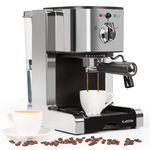 Klarstein Passionata 15 – Siebträger Espresso- u. Capuccinomaschine für 66,99€ [B-Ware]