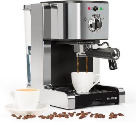 Klarstein Passionata 15   Siebträger Espresso  u. Capuccinomaschine für 66,99€ [B Ware]