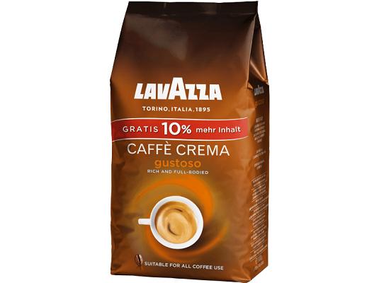 Lavazza Caffè Crema Gustoso 1,1 kg Kaffeebohnen für 9€ (statt 14€)