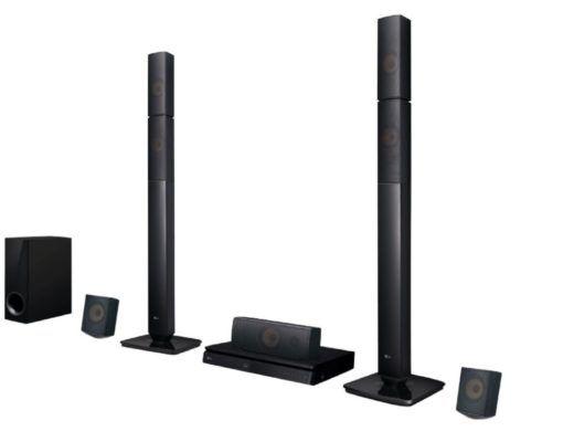 LG LHB 645N   5.1 Heimkinosystem (Bluetooth, App steuerbar, Schwarz) für 189€ (statt 260€)