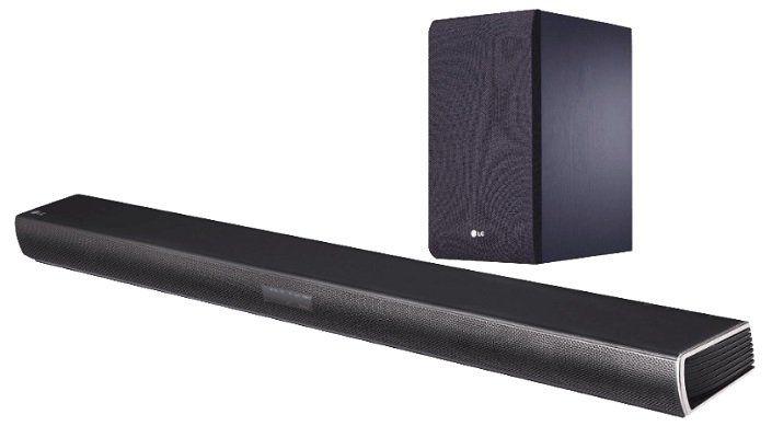 LG SJ4 2.1 Soundbar (300W, kabelloser Subwoofer, Bluetooth) für 129€ (statt 175€)