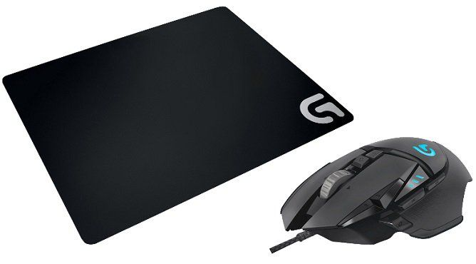 Top! Logitech Proteus Core G502 Gaming Maus + Logitech G240 Cloth Gaming Mauspad für 39€ (statt 65€)