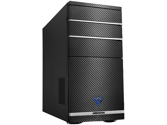 MEDION AKOYA P56001 Gaming PC (Ryzen 5, 128 GB SSD + 2 TB HDD, GTX 1050 Ti, Windows) für 599€ (statt 799€)