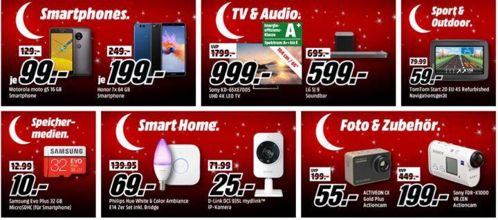 """Media Markt """"Mega Tiefpreisspätschicht"""" mit sehr vielen guten Angeboten"""