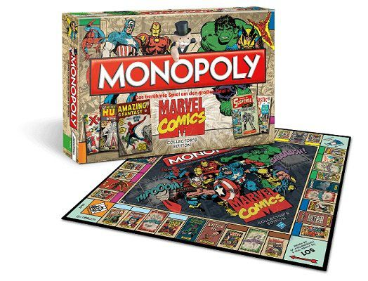 Monopoly   verschiedene Titel u.a. Marvel und James Bond ab 10€ (statt 28€)