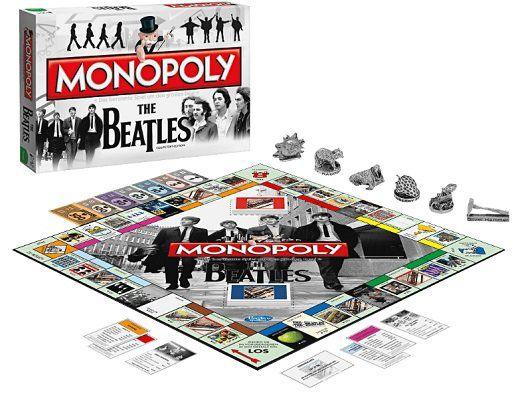 Monopoly verschiedene Titel   u. a. The Beatles und Zurück in die Zukunft ab 13€ (statt mind. 23€)