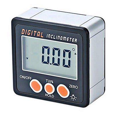 Digitaler Neigungsmesser inkl. Winkelmesser und LCD Bildschirm aus Alu für 10,49€ (statt 21€)